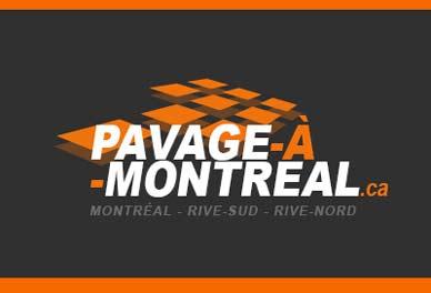 pavage pavé uni asphalte béton Montréal